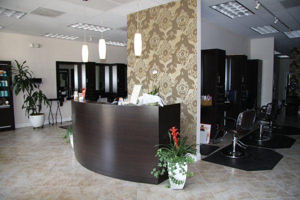 salon front desk - Google Search   Salon ideas   Pinterest   Desks ...