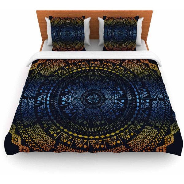 Featherweight Duvet Cover Famenxt Night Queen Boho Mandala Great Gift Bed Covers Duvet Covers Double Duvet Covers