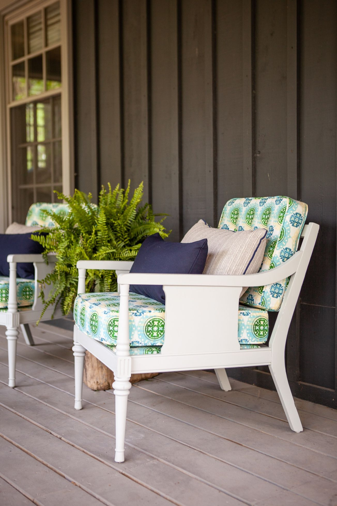 Front Porch Makeover With Fusion Mineral Paint Porch Makeover