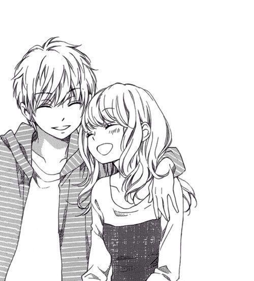 Resultado de imagem para animes de amor itzel manga dessin manga y dessin kawaii - Dessin manga couple ...