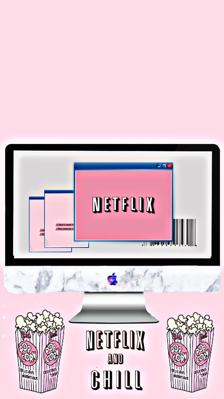 Netflix and chill wallpaper | Fond d'écran stylé