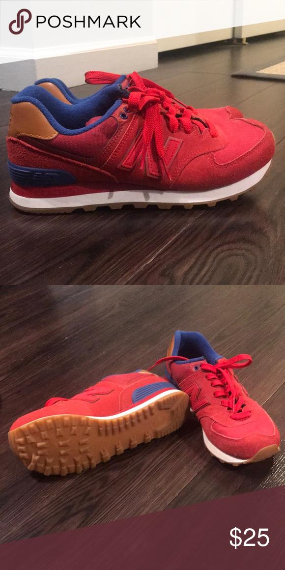 fe2e994b New Balance 574 Sneakers - never worn NB sneakers 574 never worn Red New  Balance Shoes Sneakers