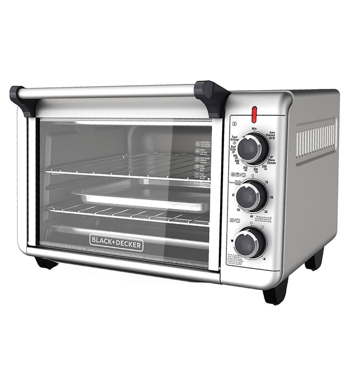 The 10 Best Toaster Ovens According To Customer Reviews Convection Toaster Oven Countertop Oven Countertop Toaster Oven