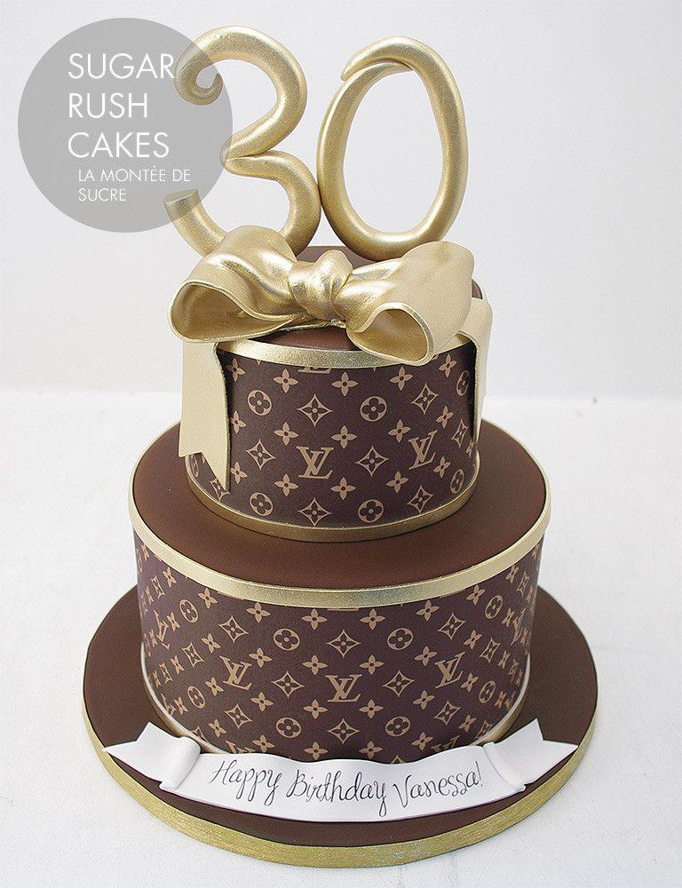 Afficher Limage Dorigine Louis Vuitton Party Pinterest Cake