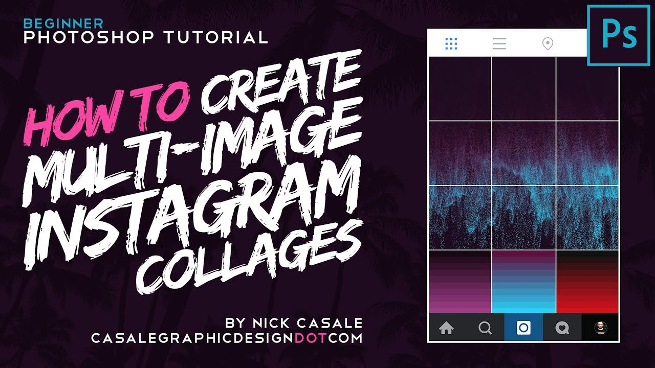 How to Create MultiImage Instagram Collages w/ Adobe