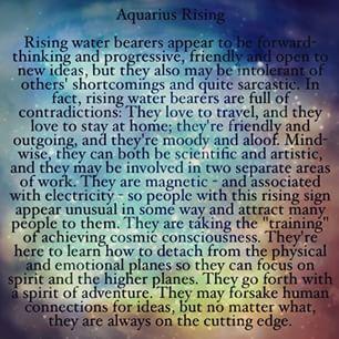 aquarius rising horoscope