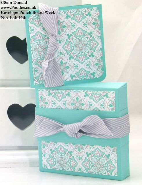 Envelope Punch Board Week – The Soap Gift Box and more!