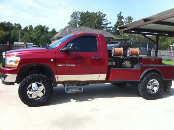 2006 Dodge Ram 3500 Utility Truck For Sale in Central and