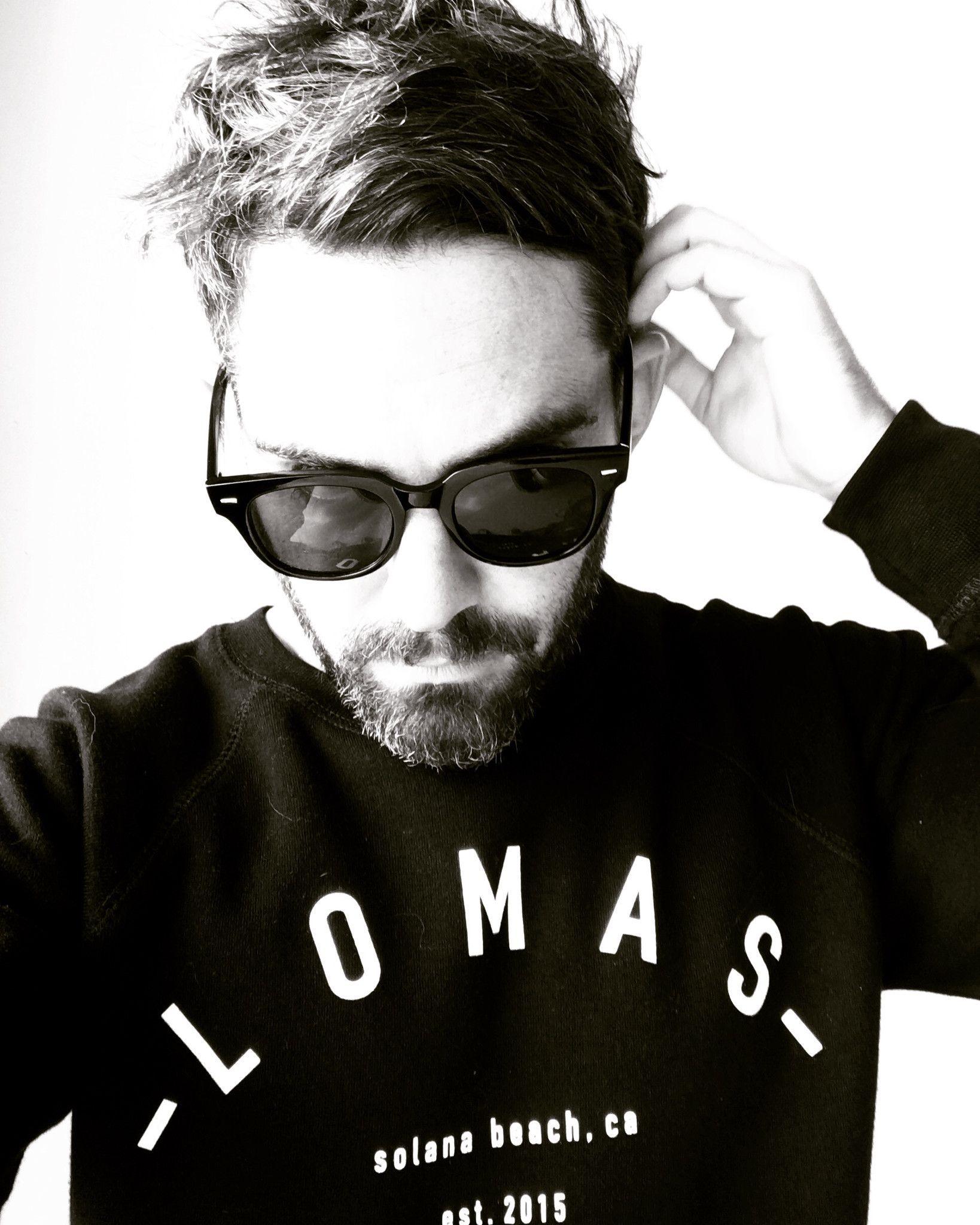 The Lomas Brand- Black Raglan