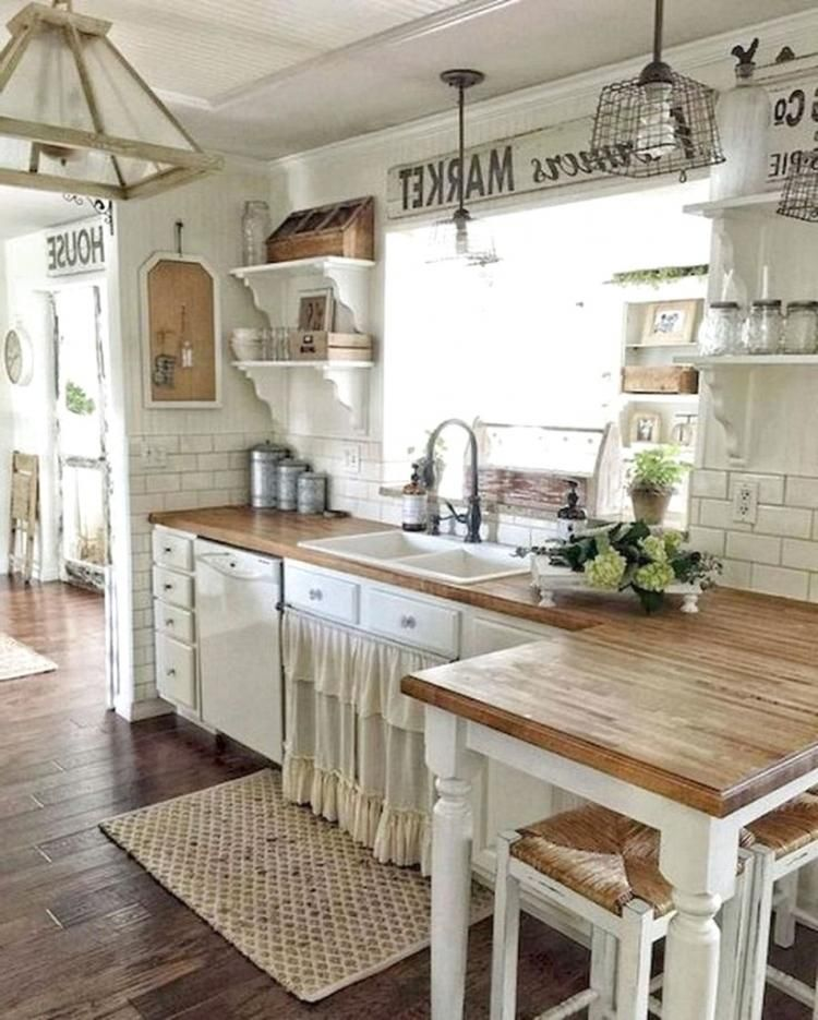 30 Gorgeous Kitchen Cabinets For Your Rustic Farmhouse