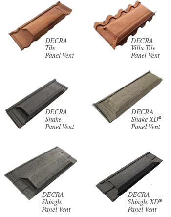 Decra Accessories Available Panel Vents Www Roof