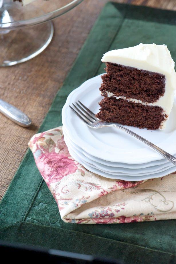 Vintage Chocolate Cake