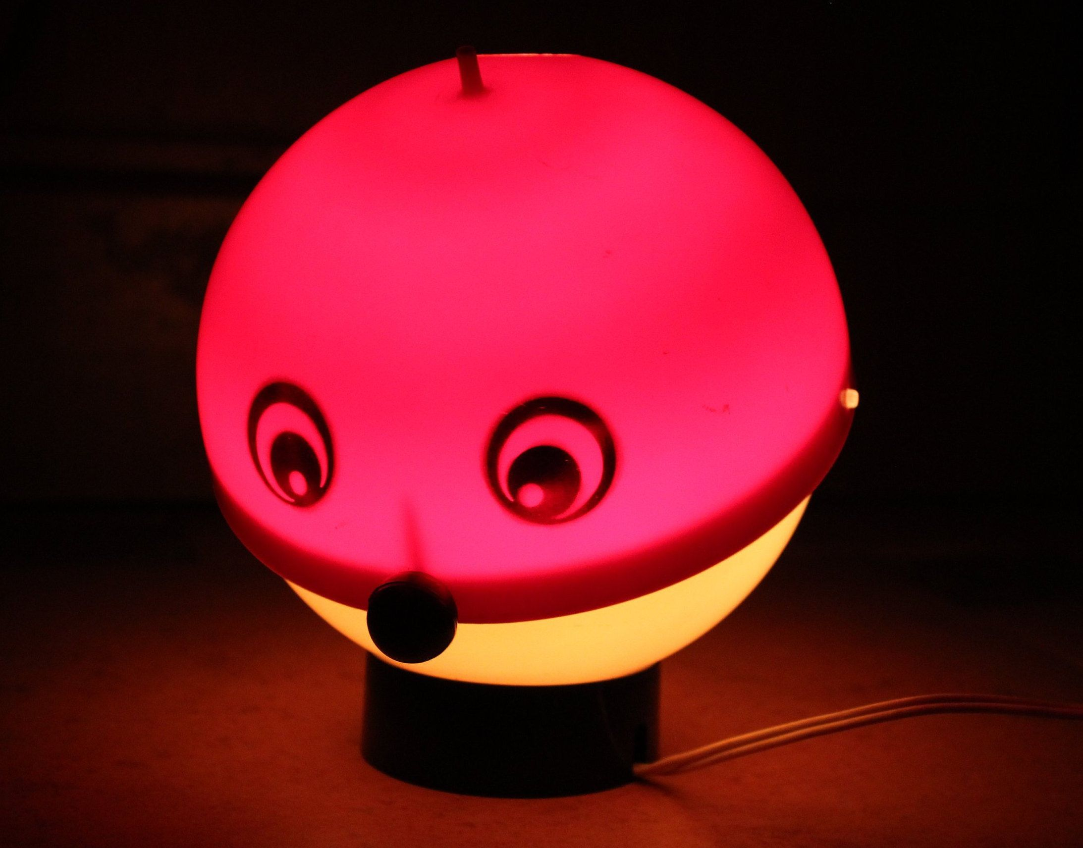 Soviet Nightlight Kids Lamp Kolobok Kids Nightlight Night Light