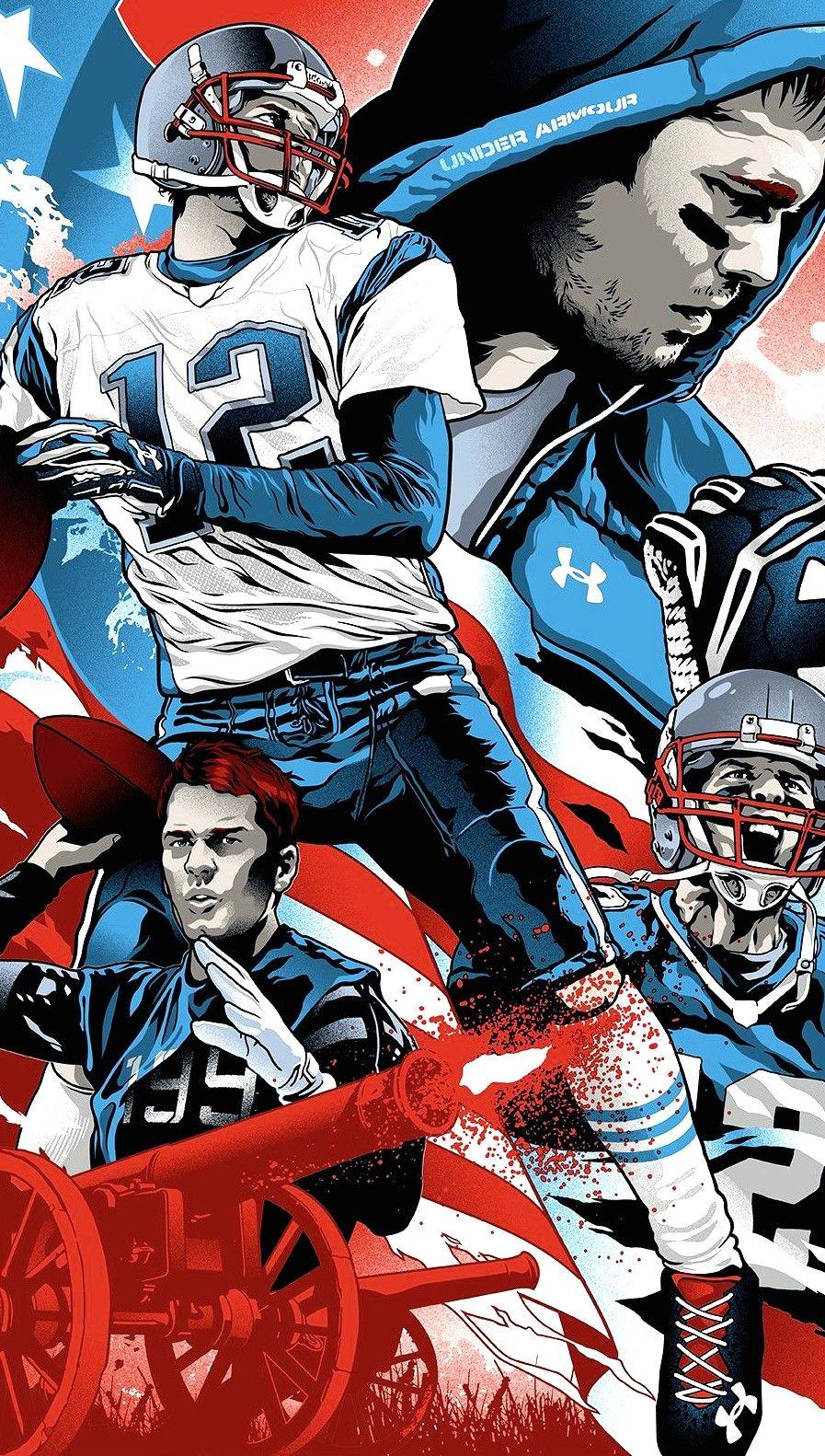 Tom Brady New England Patriots Patriots Nfl New England Patriots
