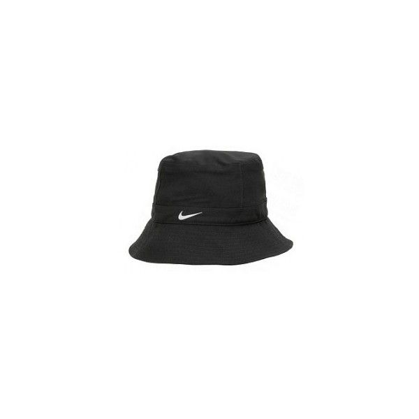 1f3e9fd0f Nike Fit Storm Bucket Hat ❤ liked on Polyvore featuring accessories ...