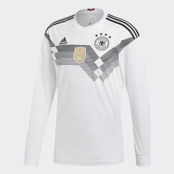 World Sleeve Home Cup 2018 Adidas Long Jersey Germany Fifa rxBeCdoW