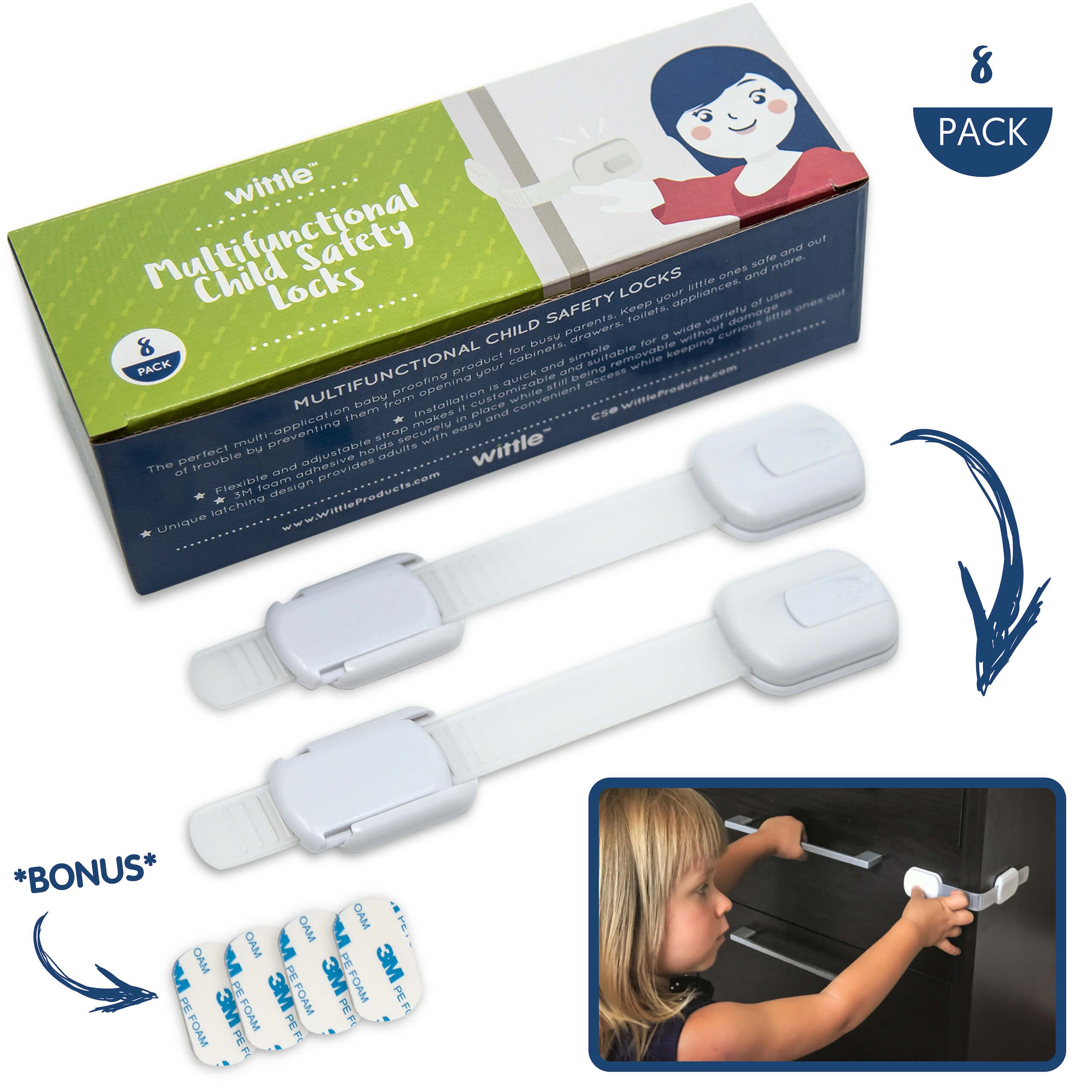 Free 2day shipping. Buy Wittle Child Safety Locks