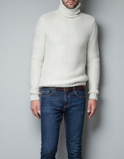 88a2ea97 FITTED TURTLE-NECK SWEATER | For the boyfriend in 2019 | Turtleneck ...