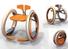 silla de ruedas (ultra) plegable // Mobi electric folding wheelchair