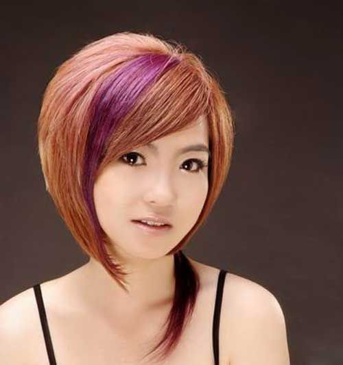 Uncategorized Short Blonde Hair With Black Streaks Awesome Best Hairstyles Lowlights And Highlights Pict