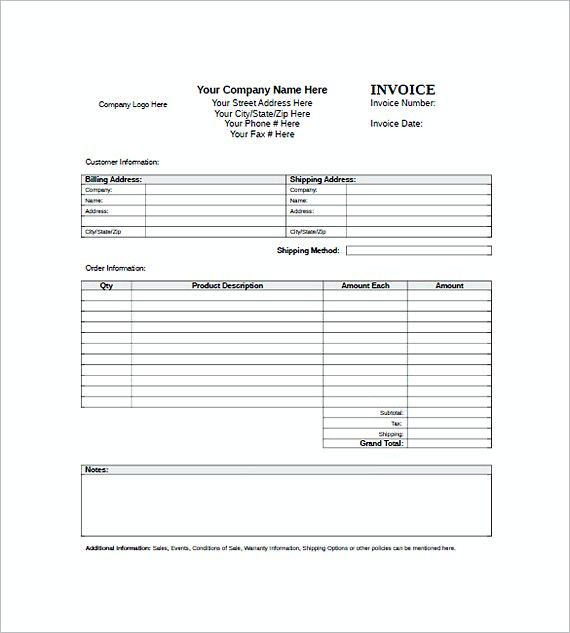standard invoice templates , Standard Invoice Template , Getting To