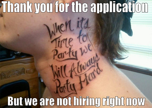 we are not hiring right now, or for the foreseeable future.