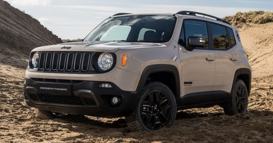 Jeep Debuts New Limited Edition Renegade Desert Hawk In Britain