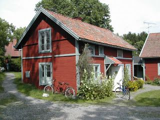 "There's a Red House over Yonder...""This red wooden house, just north of Uppsala, is typical of the style in central Sweden. Each district has a different colour paint applied to the wood and gives an instantly recognisable appearance to the countryside as you travel"". Picture by Benn"