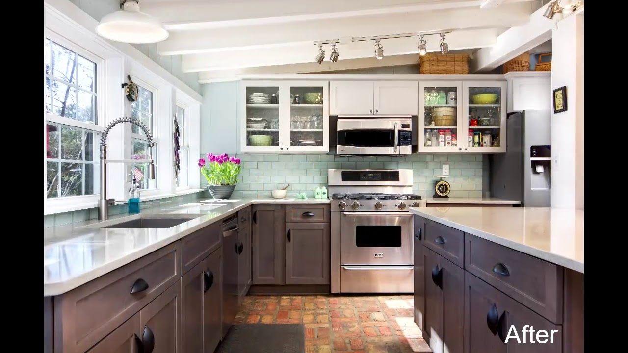 Transitional Kitchen Transformation 2. Western Decor