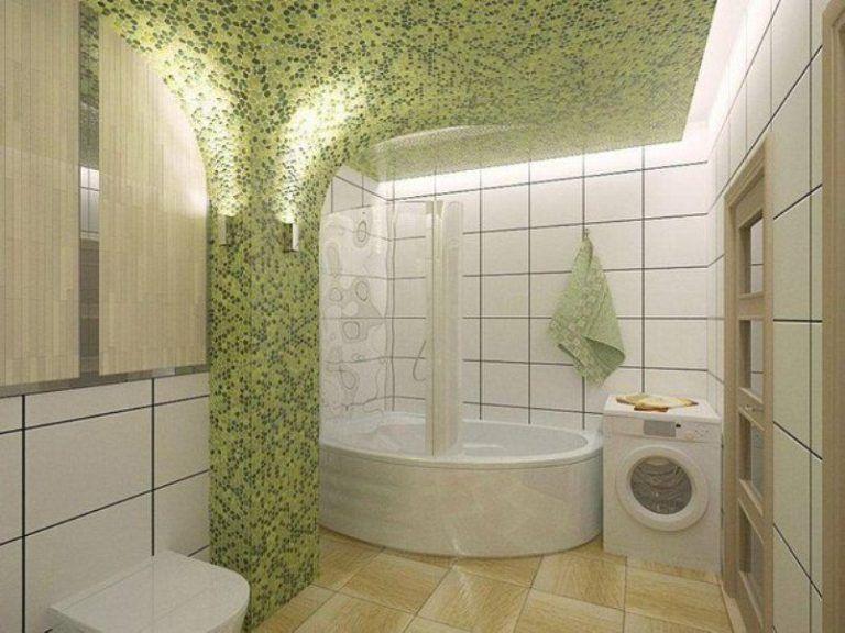 ديكورات حمامات موزاييك مودرن فخمة جدا ميكساتك Bathroom Bathtub Home