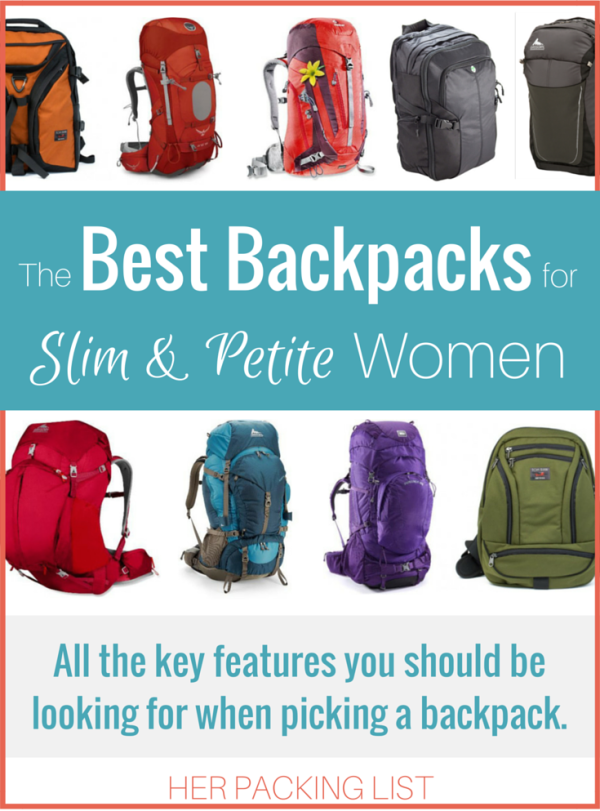 Not all backpacks are created equal- or work for every body type. That s  why Tam compiled the ultimate rundown of best backpacks for slim and petite  women. d43cdb8ffe