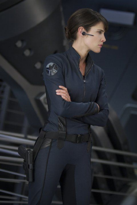 Still of Cobie Smulders in The Avengers (2012)