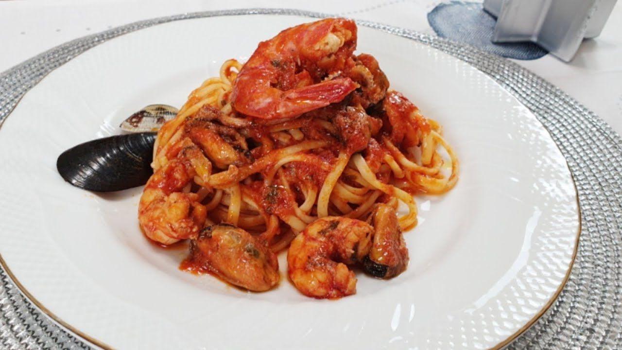 Sugo Di Pesce Primo Piatto Per La Vigilia Di Natale Italian Fish Sauce For Christmas Eve Youtube