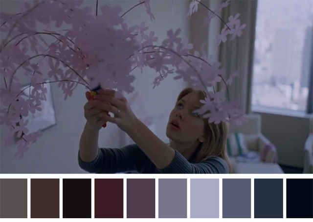 These Colour Palettes Inspired By Famous Movie Scenes Are - These colour palettes inspired by famous movie scenes are beautiful