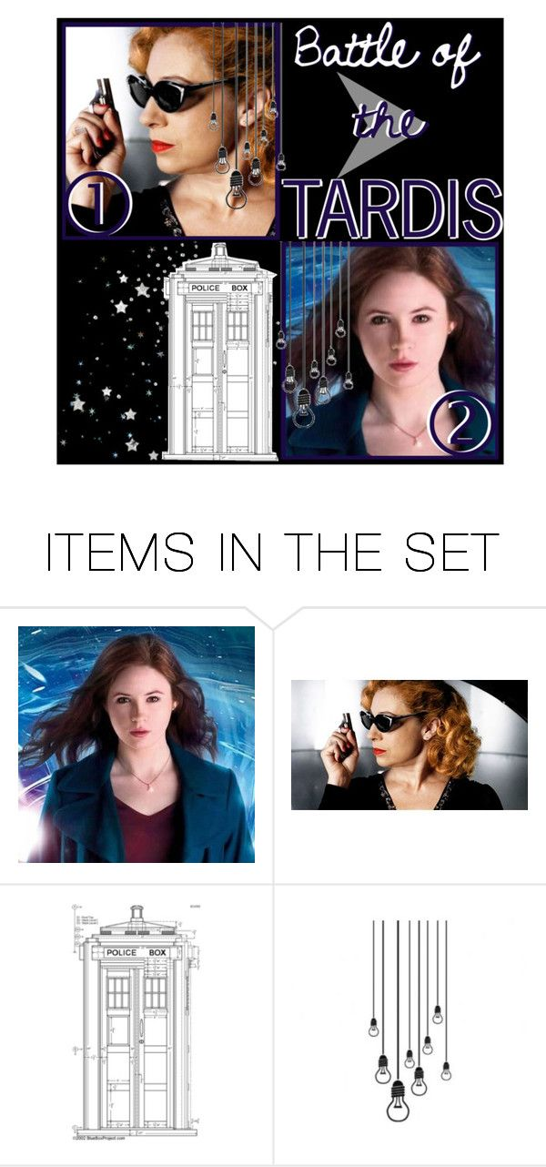 """""""battle of the tardis."""" by evenifwecantfindheaven ❤ liked on Polyvore featuring art and battleoftheTARDIS"""