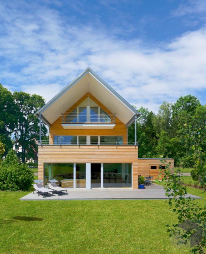 Das Haus Erstling von Baufritz hat unglaubliche 343 m²