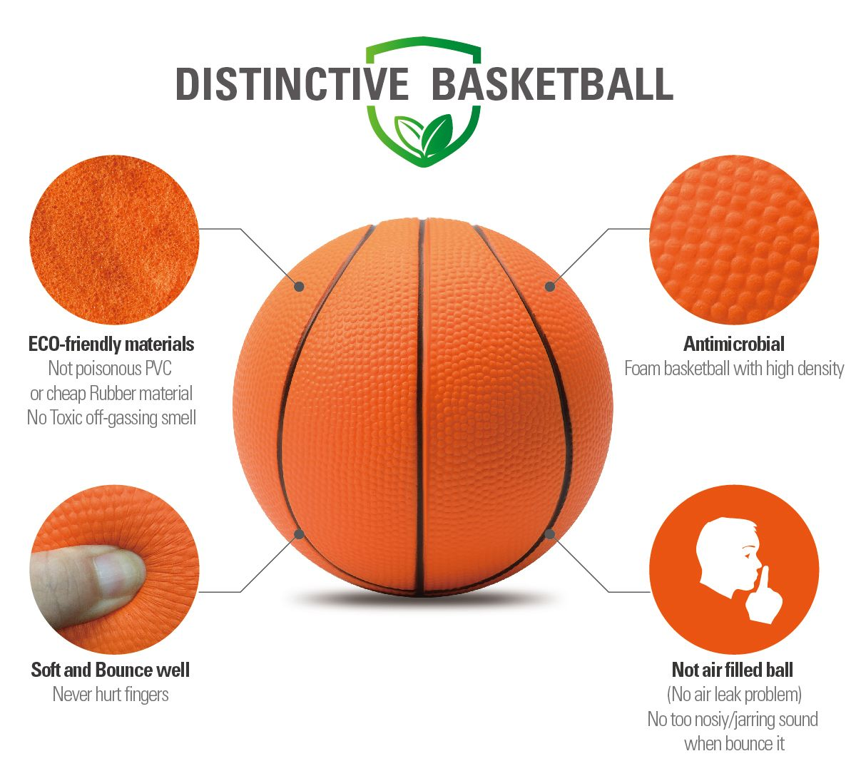 Product name chastep 6 classic foam basketball material for How much to build a basketball gym