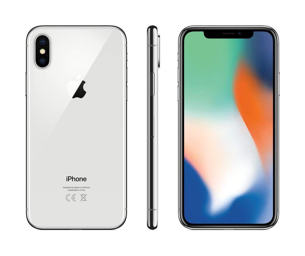 Iphone X 64 Gb Silver Apple Mobile Iphone Verizon Phones