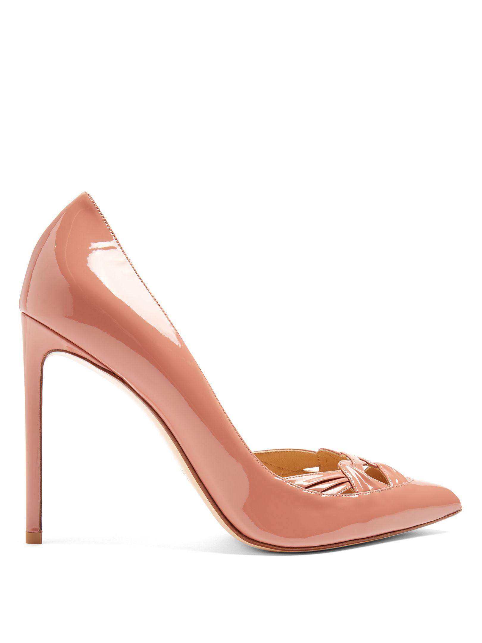 b53bf324b Point-toe patent-leather pumps | Francesco Russo | MATCHESFASHION.COM UK