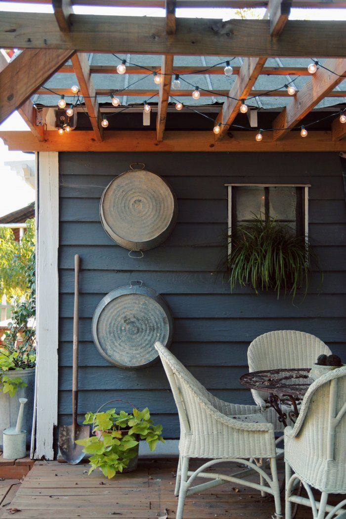 7 Tips For Creating A Rustic Garden Shed With Porch