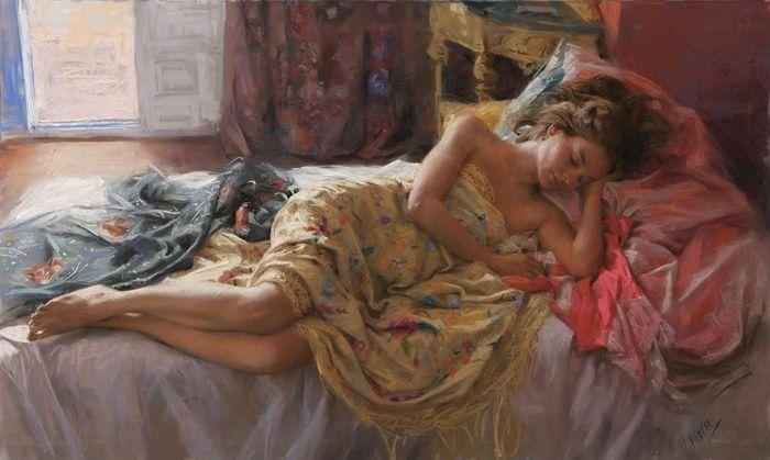 Vicente Romero Redondo 1956 |  pintor figurativo Espanhol