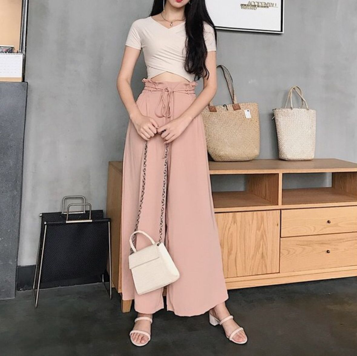 Casual Loose Pants | outfit | Pinterest | Loose pants Korean and Korean fashion