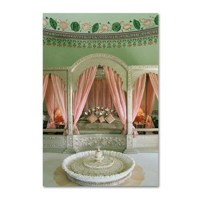 Trademark Art Drapes Photographic Print On Wrapped Canvas Wayfair In 2020 Indian Decor Decor Beautiful Space
