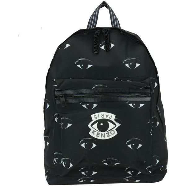 Kenzo Backpack (14.945 RUB) ❤ liked on Polyvore featuring bags, backpacks, black, knapsack bag, kenzo bag, day pack backpack, rucksack bags and daypack bag