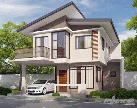 Fotos de fachadas de casas de dos plantas modernas for Diseno de casas modernas de 2 plantas