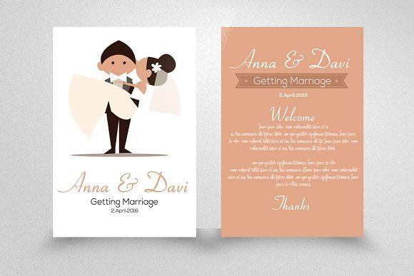 Wedding Invitation Flyer Template | Business flyers, Flyer template ...