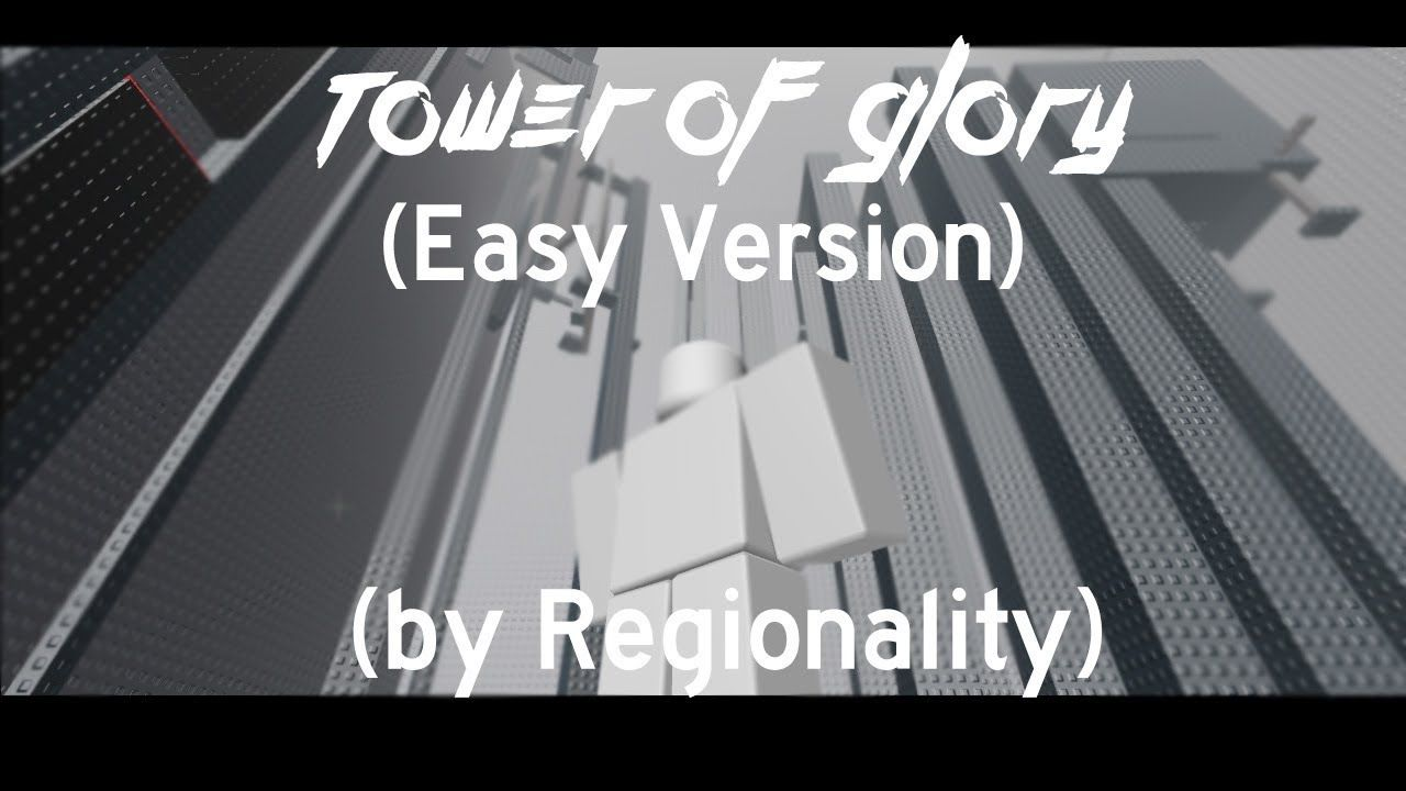 Tower Of Glory But The Easy Version Roblox Original Tog Made