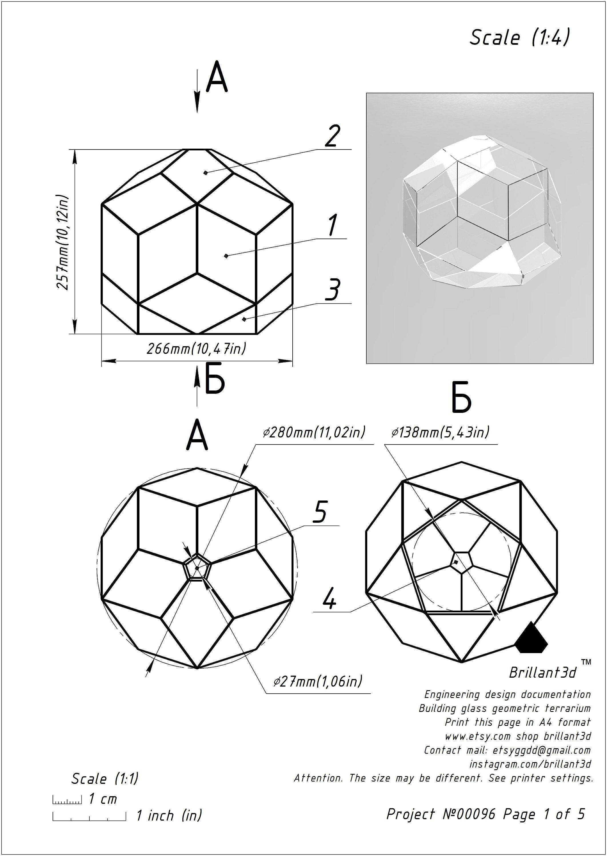 Tiffany Lamp Digital Print Pattern Geometric Glass Decor From Diagram Of A Printer Brillant3d Schematic Project 00096