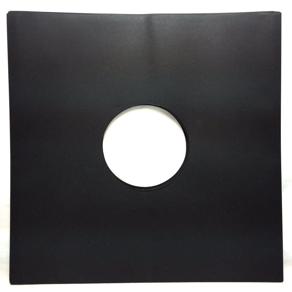 Details About 50 Black Paper Record Inner Sleeves Lp Vinyl 12 Album 20lb Stock 33rpm With Images Black Paper Vinyl Lp Vinyl