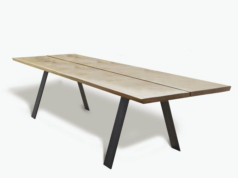 Extending Rectangular Table PLANK By Naver Collection